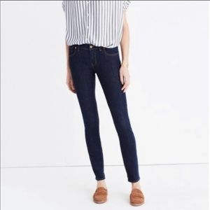 Madewell 8.5' Skinny Skinny Jeans size 26 DR